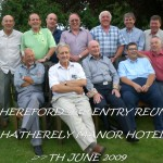 49th Entry RAF Hereford Reunion at Hatherely Manor Hotel on 27th June 2009
