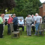 Grounds of Hatherley Manor 1st reunion 2009