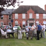 Grounds of Hatherley Manor 2009