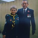 FS Gil Ridley BEM with son Ben            1947 - 2017