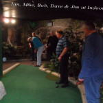 Indoor Golf 2014 reunion